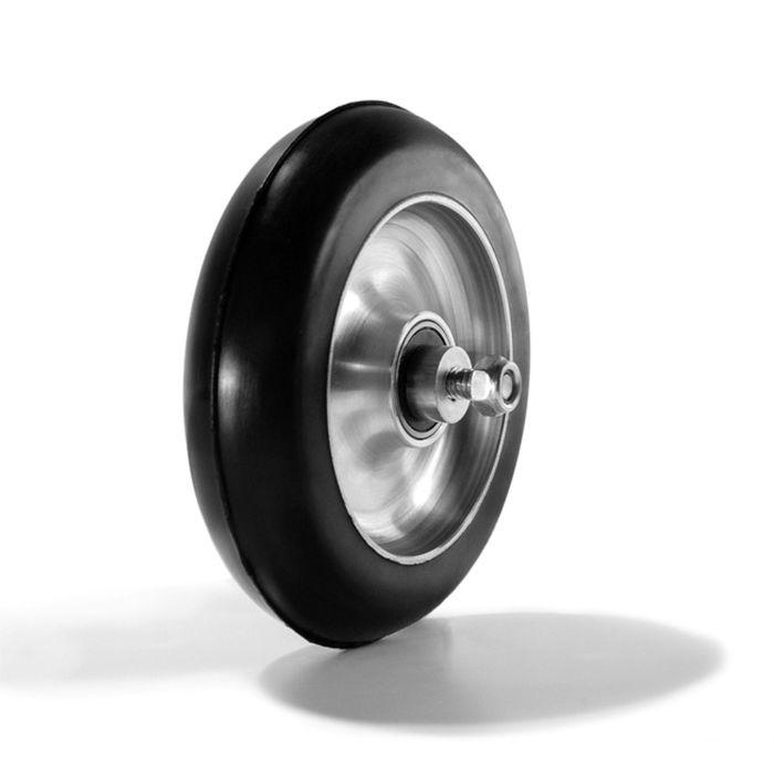 Ролик коньковый, каучук 100 х 24 мм