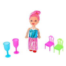 Аксессуары для кукол: мебель, посуда, МИКС Ош