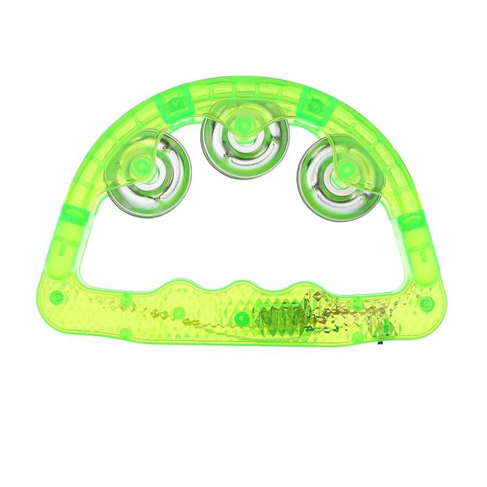 Бубен световой, цвет зеленый