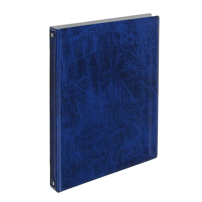 папка для меню на 4х кольцах А4 Xepter синяя