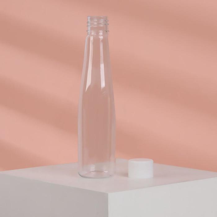 Бутылочка для хранения, 80мл, цвет белый