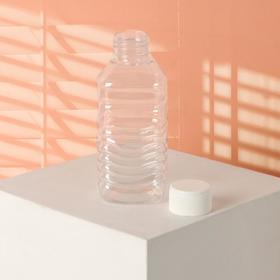 Бутылочка для хранения, 140 мл, цвет белый Ош