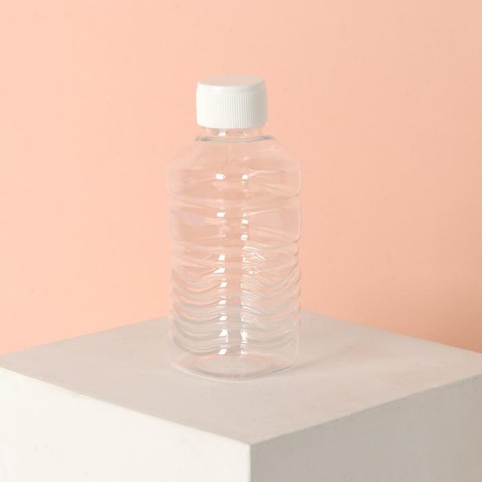 Бутылочка для хранения, 140мл, цвет белый