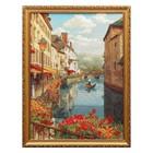 "Гобеленовая картина ""Венеция- город на воде"" евро 39*50 см"