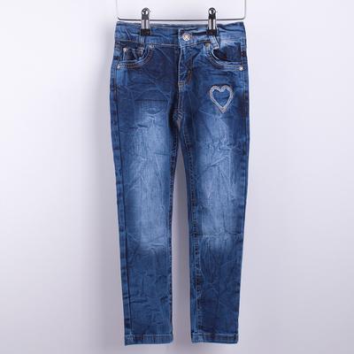 Джинсы для девочки, рост 98 см, цвет синий ШР460