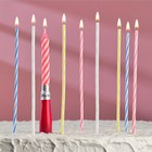 Набор свечей музыкальных (Коктейльные +1 Музыкальная)