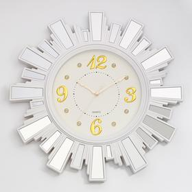 """Watch series: Classic """"Barbara"""", with mirror, d=53 cm, white"""