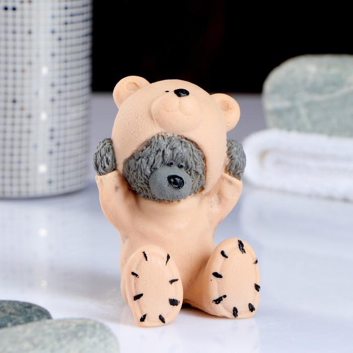 """Мыло фигурное """"Мишка в костюме медведя"""" 90 г"""