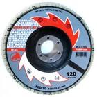 Круг лепестковый торцевой ABRAFLEX FLD-10, P120, 125 х 22,2 мм