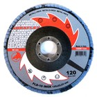 Круг лепестковый торцевой ABRAFLEX FLD-10 INOX, P120 125 х 22,2 мм