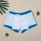 """Трусы купальные для мальчика """"Ящер"""", рост 140-146 см (10-11 лет), вид 1, цвет синий"""