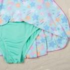 """Купальник слитный для девочки """"Конфетти"""", рост 104-110 см (4-5 лет), цвет бирюзовый"""