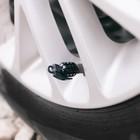 Колпачки на вентиль TORSO граната, чёрные, набор 4 шт.