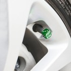 Колпачки на вентиль TORSO кубик, зелёные, набор 4 шт.