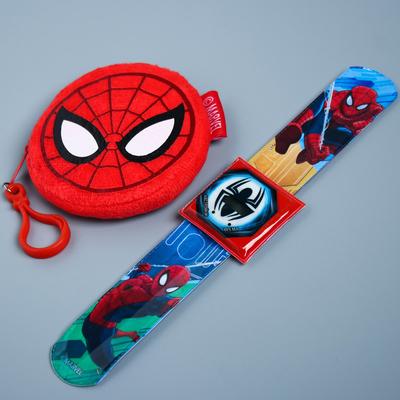 """Набор часы и кошелек """"Круче всех"""", Человек-паук"""
