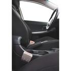 Заглушка ремня безопасности, серый, набор 2 шт - фото 234637