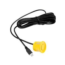 Parking assist sensor universal, boarding ø 22 mm, wire 245 cm yellow