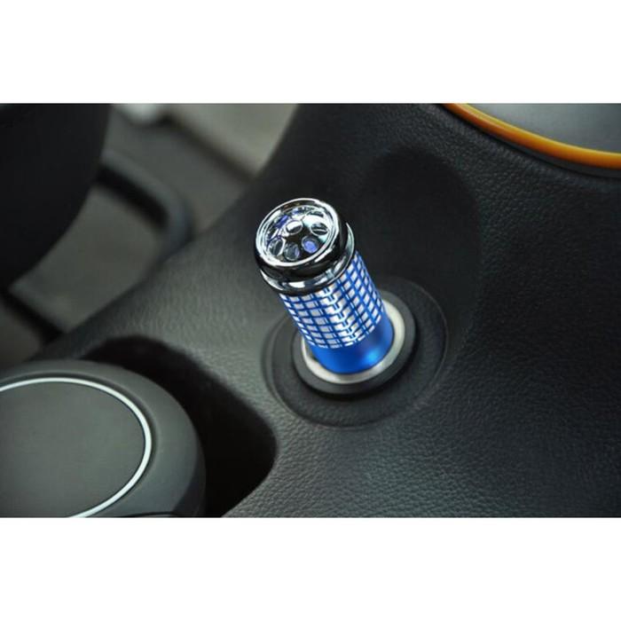 Ионизатор воздуха автомобильный, напряжение 12-24 В, синий