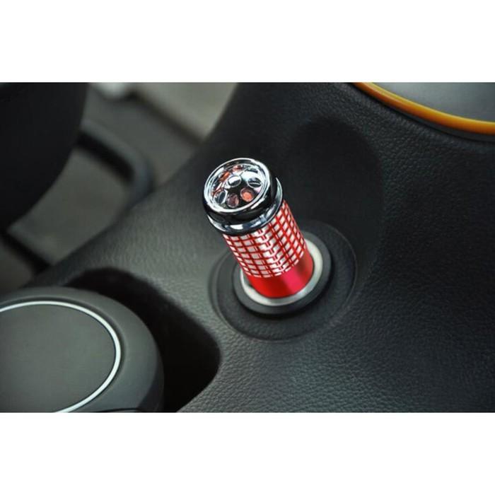 Ионизатор воздуха автомобильный, напряжение 12-24 В, красный