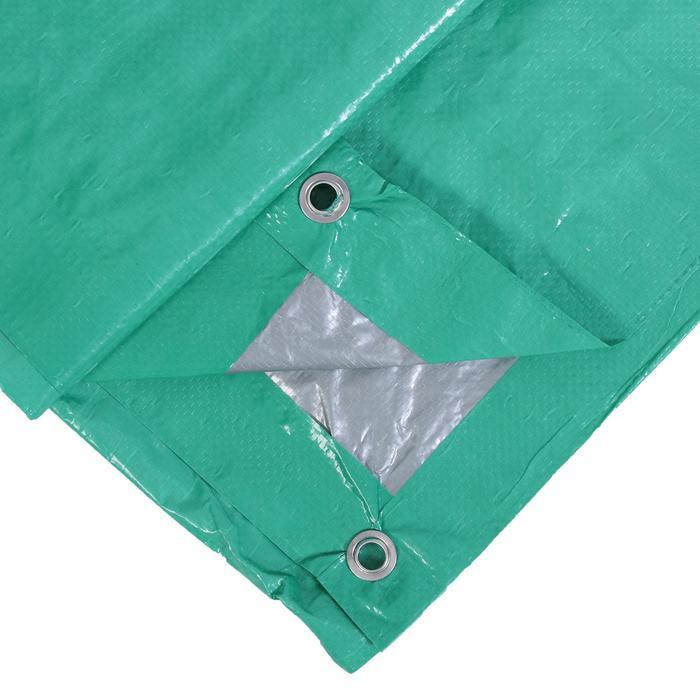 Тент защитный, 3 × 2 м, плотность 90 г/м², светло-зелёный