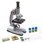 "Микроскоп ""Лаборатория"", кратность увеличения 450х, 200х, 100х, набор для исследований - фото 106525921"