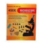 "Микроскоп ""Лаборатория"", кратность увеличения 450х, 200х, 100х, набор для исследований - фото 106525922"