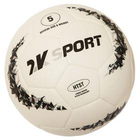 Мяч футбольный 2K Sport Crystal Pro Hybrid, white/grey, размер 5