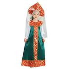 """Карнавальный костюм """"Хозяйка медной горы"""" для девочки, рост 98-104 см"""