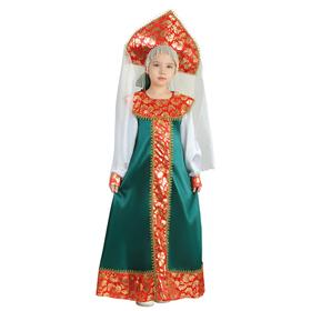 """Карнавальный костюм """"Хозяйка медной горы"""" для девочки, рост 122-128 см"""