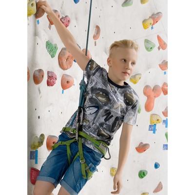 Футболка для мальчика, рост 158 см, цвет серый BFT5045/1