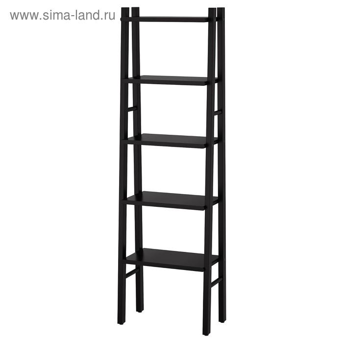 Стеллаж ВИЛЬТО, 46x150 см, черный
