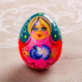 Яйцо «Матрёшка с голубем, 7 см, микс в Донецке