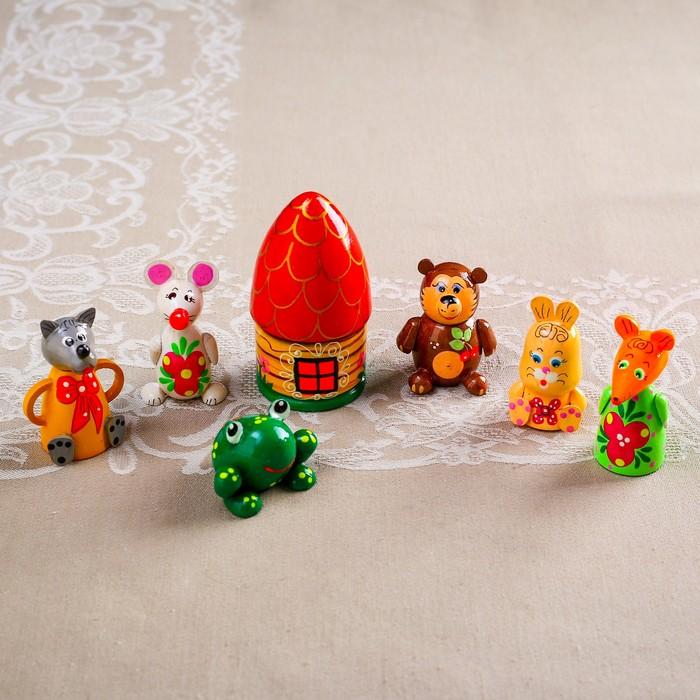 Кукольный театр «Теремок», 7 предметов