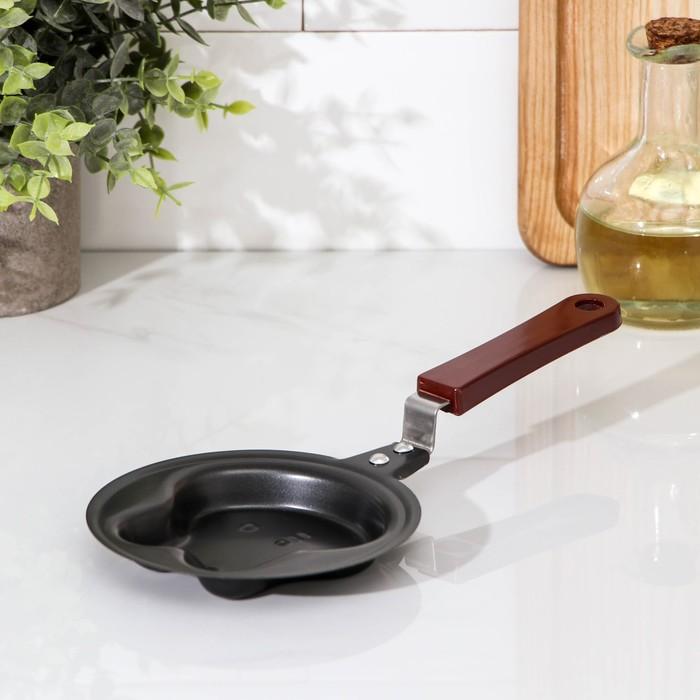"""Сковорода 12 см """"Заяц"""", антипригарное покрытие"""