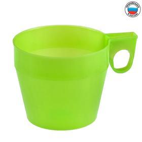Кружка пластиковая 250 мл., цвет МИКС Ош