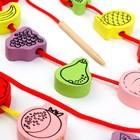 """Шнуровка """"Фрукты"""", 24 детали - фото 105591585"""