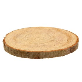 Набор срезов осины, диаметр 9-11см, толщина 5 мм, 5шт Ош