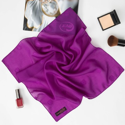 Платок женский, р-р 50х50, цвет STC05-V01 фиолетовый 7 1 16 256 1558