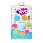 Подгузники-трусики Manuoki M 6-11 кг, 56 шт - фото 105454395
