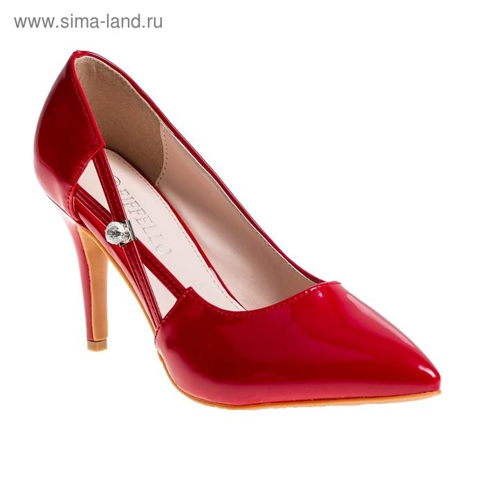 Туфли женские EIFFELLO арт. XP02-2 (красный) (р. 37)