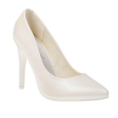 Туфли женские, цвет белый, размер 35