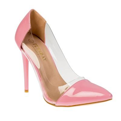 Туфли женские, цвет розовый, размер 39