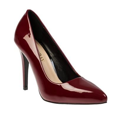 Туфли женские, цвет бордовый, размер 40