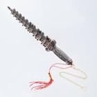 Кортик пагода медь, металл, пластик, 24 см - фото 8875077