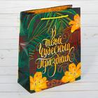 Пакет ламинированный вертикальный «В твой чудесный праздник», S 11 × 14 × 5,5 см