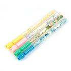 Ручка гелевая ПИШИ-СТИРАЙ 0,5мм стержень синий корпус МИКС Цветы