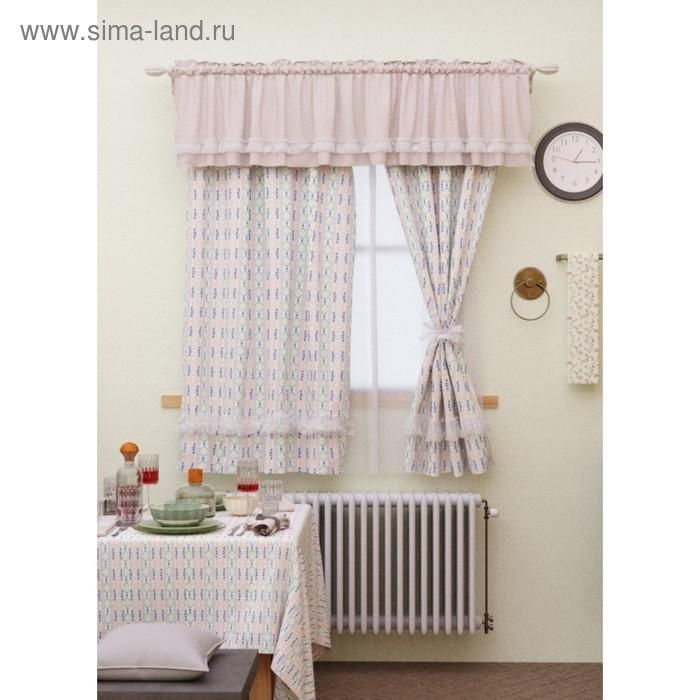 Комплект штор, размер 150 × 180 см - 2 шт, габардин