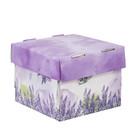 Складная коробка «Лавандовая сказка», 15 х 15 х 12 см