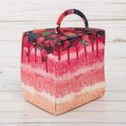 Упаковка для десерта «Вкусно!», 12 × 11 × 10 см