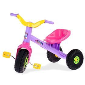 Велосипед трёхколёсный «Ветерок», фиолетовый